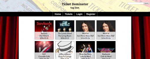 Ticket Dominator PHP image